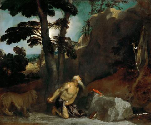 Titian Vecelli. Saint Jerome