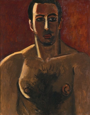 Marsden Hartley. Madawaska, light heavyweight, version three