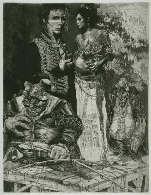 Alexander Nikolayevich Steshenko. Puppet seller. Puppet master 5 sheet