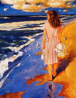 Винсент Макиндо. Пляж