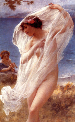 Charles-Amable Lenoir. Dance by the sea
