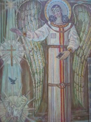 Вячеслав Коренев. Angel with a dove