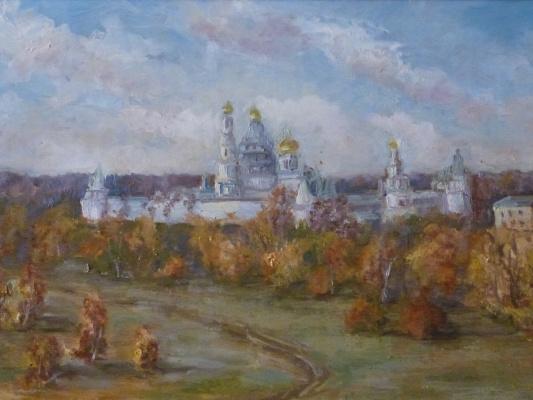 Надежда Георгиевна Шацкая. Вид монастыря с юга