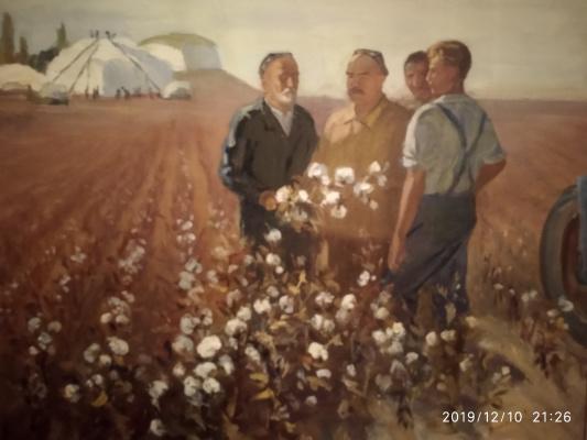 Zakir Inogomov (Inogamov). Cotton crop