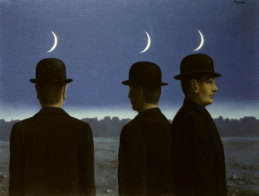 René Magritte. The masterpiece or the mysteries of the horizon
