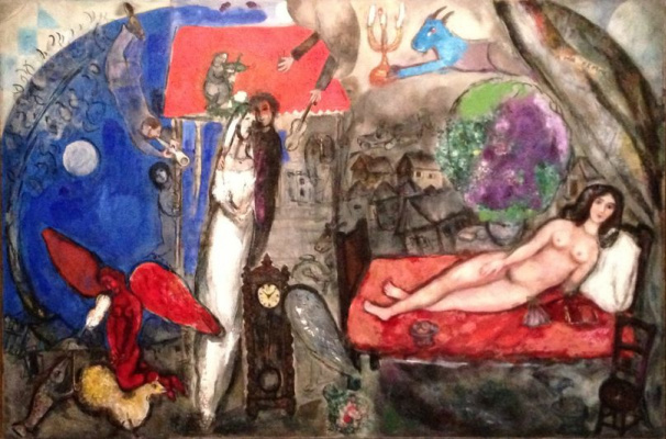 Marc Chagall. My wife