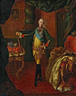 Alexey Petrovich Antropov. Portrait of Peter III