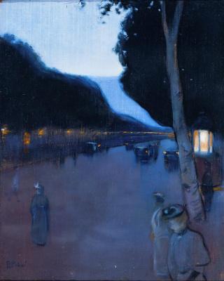 Ramon Casas i Carbó. Paris Boulevard