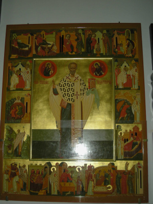 Gennady Viktorovich Babenko. Saint Nicholas with a Life.