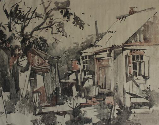 Tatyana Grigoryevna Meshkova. Old houses