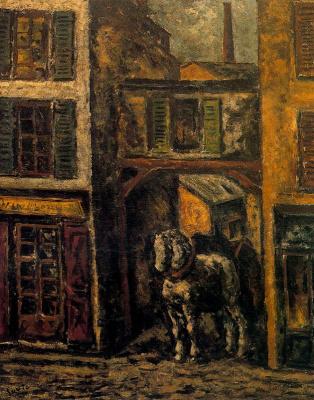 Arturo Souto. White horse