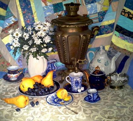 Василий Васильевич Куракса. Tea party