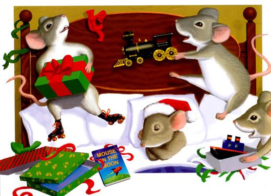 Майкл Гарленд. Мышь перед Рождеством 19