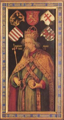 Альбрехт Дюрер. Портрет императора Сигизмунда