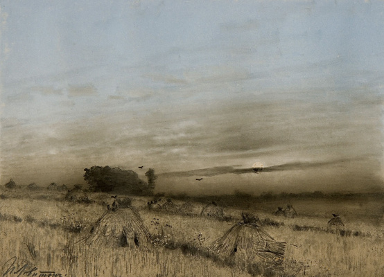 Isaac Levitan. Compressed field