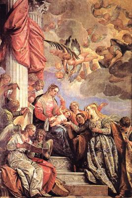 Паоло Веронезе. Брак Святой Екатерины