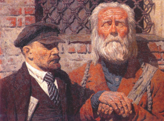 Гелий Михайлович Коржев. Разговор