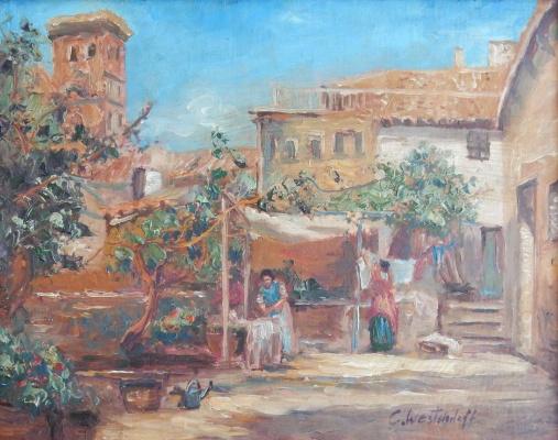 Капри (эскиз)