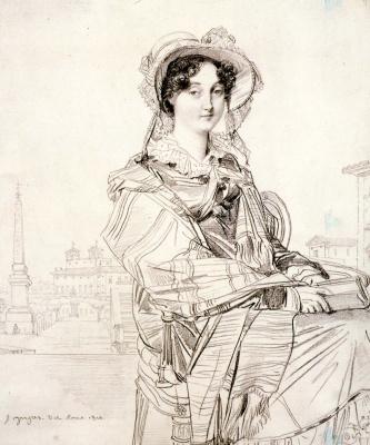 Jean Auguste Dominique Ingres. Mrs. Charles