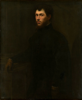 Jacopo Tintoretto. Portrait of a young man