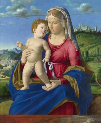 Giovanni Battista Cima da Conegliano. Virgin with the baby
