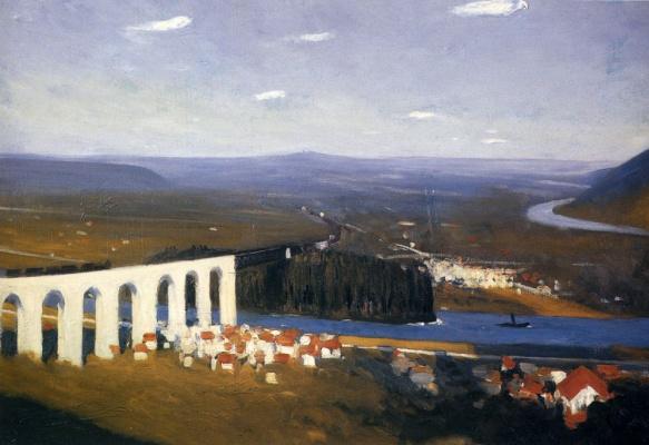 Edward Hopper. Valley Of The Seine