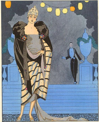 Georges Barbier. Parting
