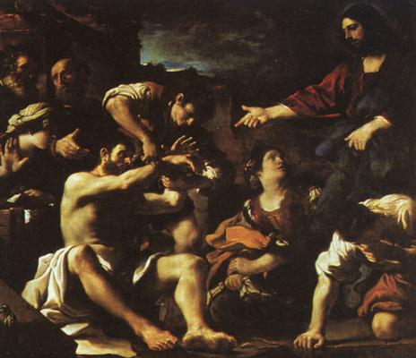 Giovanni Francesco Guercino. Lazarus