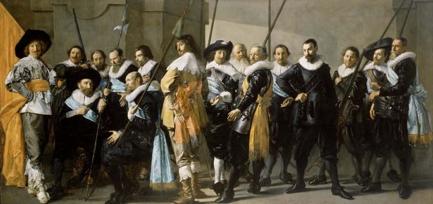 France Hals. The captain Rayner real and Lieutenant Cornelis Blaeu (co-authored with Peter Codd)