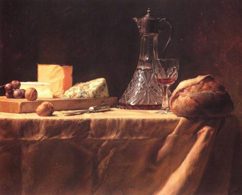 Иаков Коллинз. Натюрморт с хлебом