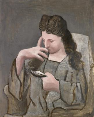Пабло Пикассо. Читающая женщина