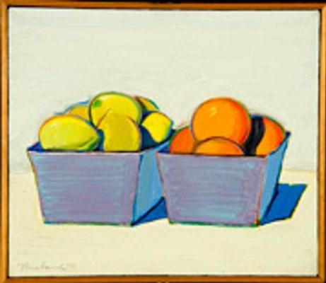 Уэйн Тибо. Лимоны м апельсины