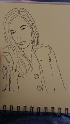 Кира Котова. Sketch