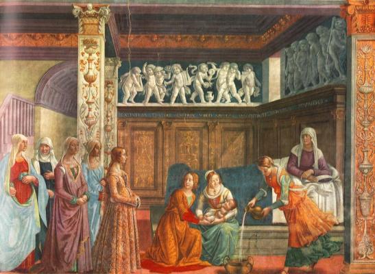 Domenico Girlandajo. Christmas