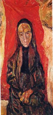 Chaim Soutine. Portrait of a widow