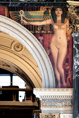 Густав Климт. Египетское искусство (Роспись для музея истории искусства в Вене, левая половина)