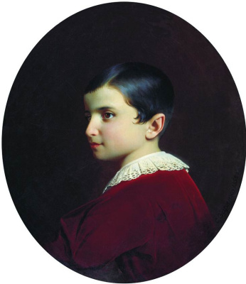 Сергей Константинович Зарянко. Портрет Вани (Ивана Христофоровича) Лазарева. 1852
