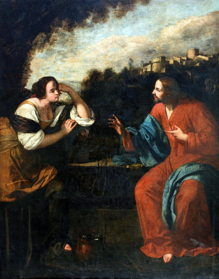 Артемизия Джентилески. Иисус и Самарянка