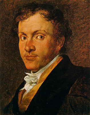 Francesco Ayets. Portrait of Giuseppe Roberti