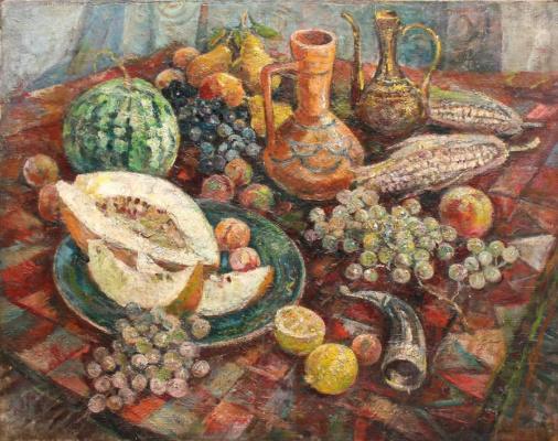 Елена Михайловна Бебутова (Кузнецова). Восточный натюрморт