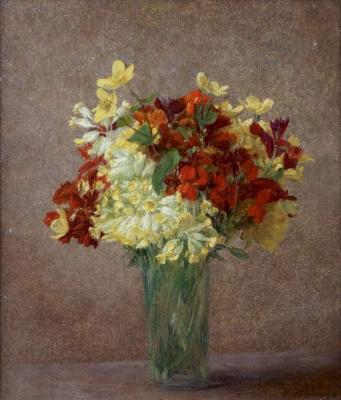 Виктория Дюбург (Фантен-Латур). Весенние цветы