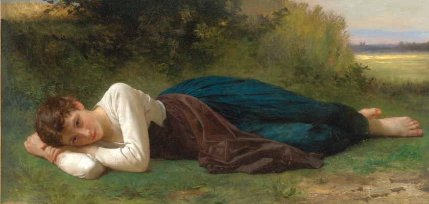 William-Adolphe Bouguereau. Stay