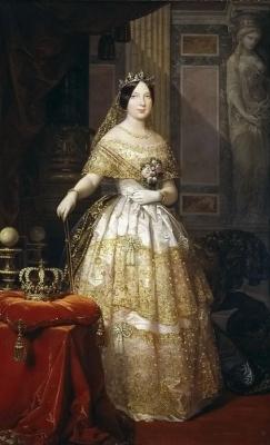 Federico de Madraso y Coones. The portrait of Elizabeth II, Queen of Spain