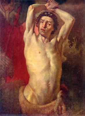 Taras Grigorievich Shevchenko. Sitter in Marsyas