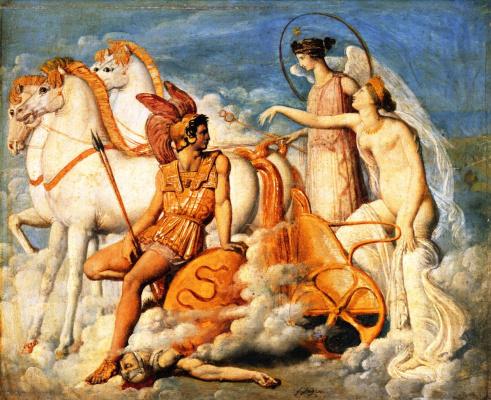 Жан Огюст Доминик Энгр. Венера, раненная Диомедом