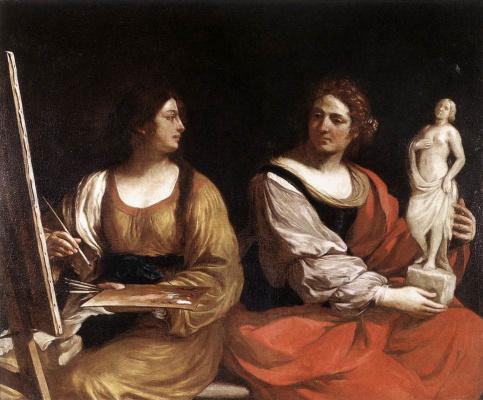Giovanni Francesco Guercino. Sculpture