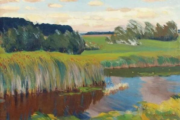 Arkady Alexandrovich Rylov. The river