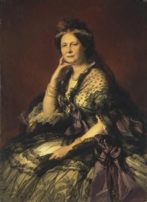 Франц Ксавер Винтерхальтер. Портрет великой княгини Елены Павловны