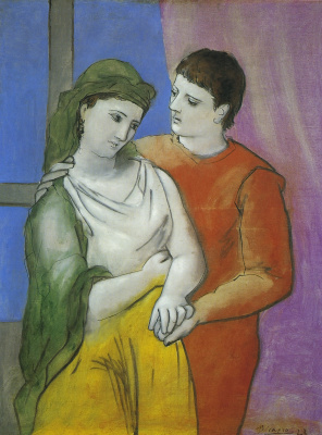 Pablo Picasso. Lovers