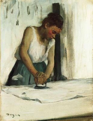 Edgar Degas. Laundress